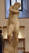 David or Apollo by Michelangelo (Museo del Bargello).jpg