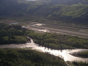 Dawson City Airport - Image: Dawson City Airport