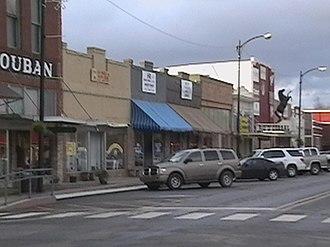 DeRidder, Louisiana - DeRidder Historic District and buildings