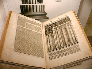 De architectura - A 1521 Italian language edition of De architectura, translated and illustrated by Cesare Cesariano