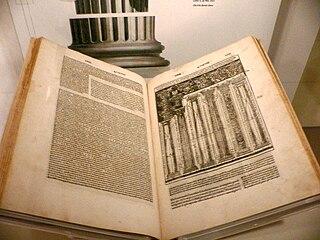 <i>De architectura</i> Treatise on architecture by Vitruvius