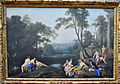 De la Hyre, Diana and her nymphs in a landscape.jpg