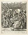 De verloren zoon verkwist zijn geld Et Venere et baccho bona decoquit omnia natus (titel op object) Gelijkenis van de verloren zoon (serietitel), RP-P-1894-A-18594C.jpg