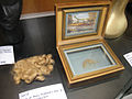 Debbie Reynolds Auction - a lock of Mary Pickford's hair in wooden display box.jpg