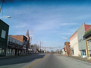 Decherd, Tennessee - Old Decherd, on State Route 50