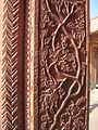Decorated pillar inside Turkish sultana's house.JPG