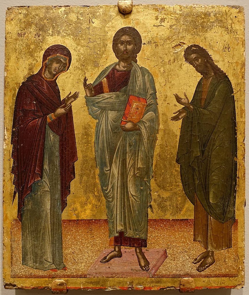 File Deesis Christ Between Mary And John The Baptist