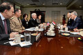 Defense.gov News Photo 100615-D-9880W-048 - Secretary of Defense Robert M. Gates 4th from left hosts a meeting in the Pentagon with Iraqi Minister of Defense Abdul Qader right . Assistant.jpg