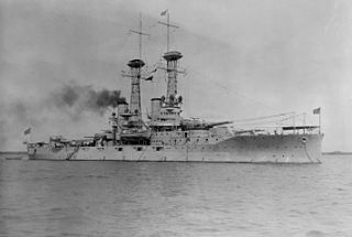 USS <i>Delaware</i> (BB-28) Dreadnought battleship of the United States Navy