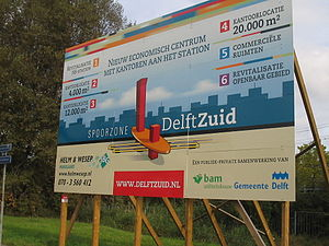 Delft Zuid railway station - Image: Delft Zuid 3