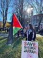 Demonstration seeks support for Palestine in New Zealand 01.jpg