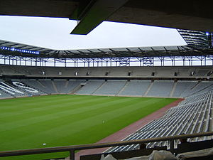South Stand im Stadium:mk