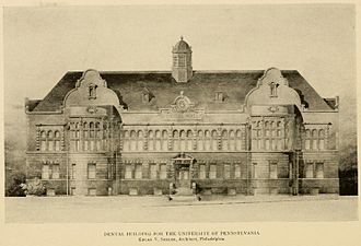 Edgar Viguers Seeler - Dental Hall, University of Pennsylvania, 1896