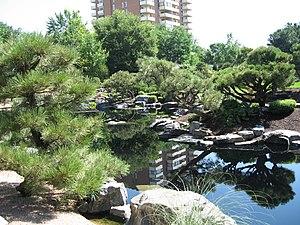 Japanese garden at Denver Botanic Gardens