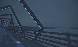Des Moines River Valley - High Trestle Trail Bridge at Night - LED (24262128270).jpg
