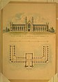 Design Adopted by Governor Mason for University of Michigan (elevation and plan) MET DR304.jpg