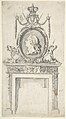 Design for a Chimneypiece, Incorporating a Portrait of George III MET DP800983.jpg