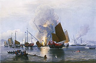 War between Great Britain and China in the 19th century