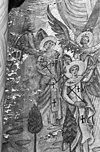 detail schildering op oostgevel koor - bergen op zoom - 20032877 - rce
