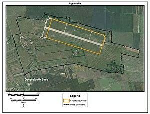 Deveselu - The airbase seen in 2011.