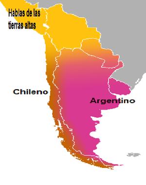 espanol en argentina: