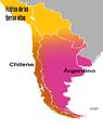 Dialectos del Español en el Cono Sur de América.PNG