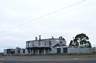 Diggers Rest, Victoria - Diggers Rest Hotel Ruins