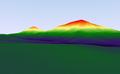 Digital terrain model of Battle Mountain based on ASTER data.png