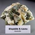 DiopsideEtCalciteAustralie Don.Saussol Lamiot MuséumHistoireNaturelleLilleGLAM2016.jpg