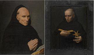 Panneau de triptyque: face. SAINT NICOLAS DE TOLENTIN.
