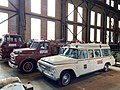 Display of Lukens Steel Company emergency vehicles.jpg