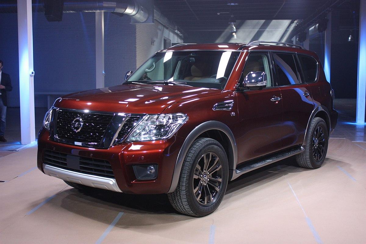 Infiniti Qx80 For Sale >> Nissan Armada - Wikipedia