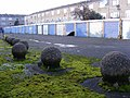 Disused garages with concrete spheres, E5.jpg