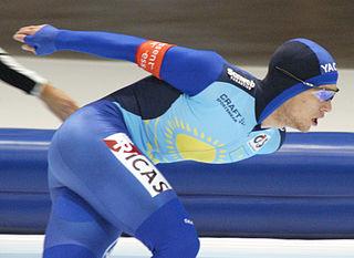 Dmitry Babenko Kazakhstani speed skater