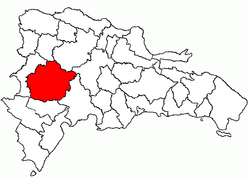 Location of the San Juan Province