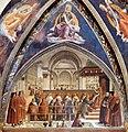 Domenico Ghirlandaio - Confirmation of the Rule - WGA08806.jpg