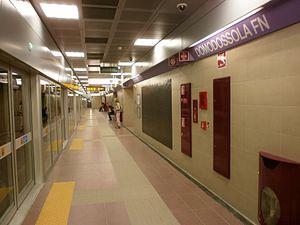 Domodossola (Milan Metro) - Image: Domodossola M5 metropolitana di Milano