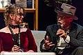 Donna Maree Hanson and John Purcell, at the Hugos, Worldcon, Helsinki.jpg