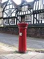 Doric column pillar box - geograph.org.uk - 257390.jpg