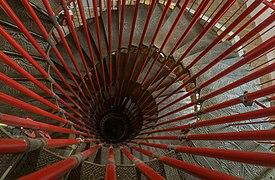 Double Helix Staircase in Ljubljana Castle.jpg