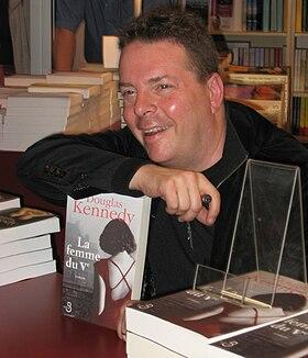 Douglas Kennedy au Salon du livre de Paris,mars 2008
