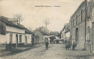 Airaines - Dourier before 1914