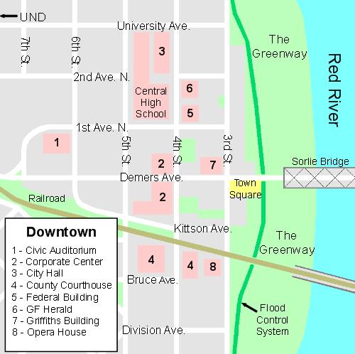 DowntownGrandForksMap