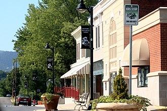 Shenandoah, Virginia - Downtown Shenandoah