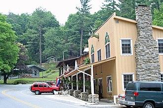 Little Switzerland, North Carolina - Image: Downtown Little Switzerland