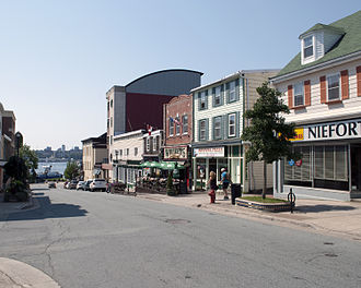 Downtown Dartmouth - Downtown Portland Alderney