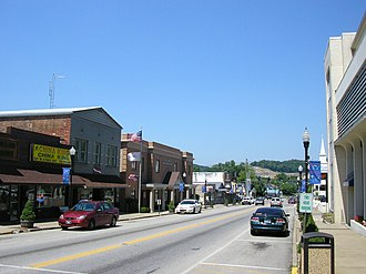 West Liberty, Kentucky - Downtown West Liberty, 2007