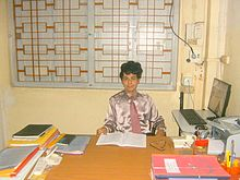 Dr. B.R.Manjunath, in office.jpg