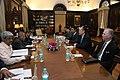 Dr. Jim Yong Kim Meeting with Indian Finance Minister Pranab Mukherjee (6897317140).jpg