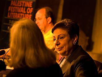 Hanan Ashrawi - Ashrawi in 2008